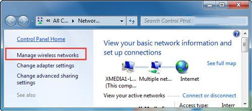 Xem mật khẩu WiFi trên Windows 7