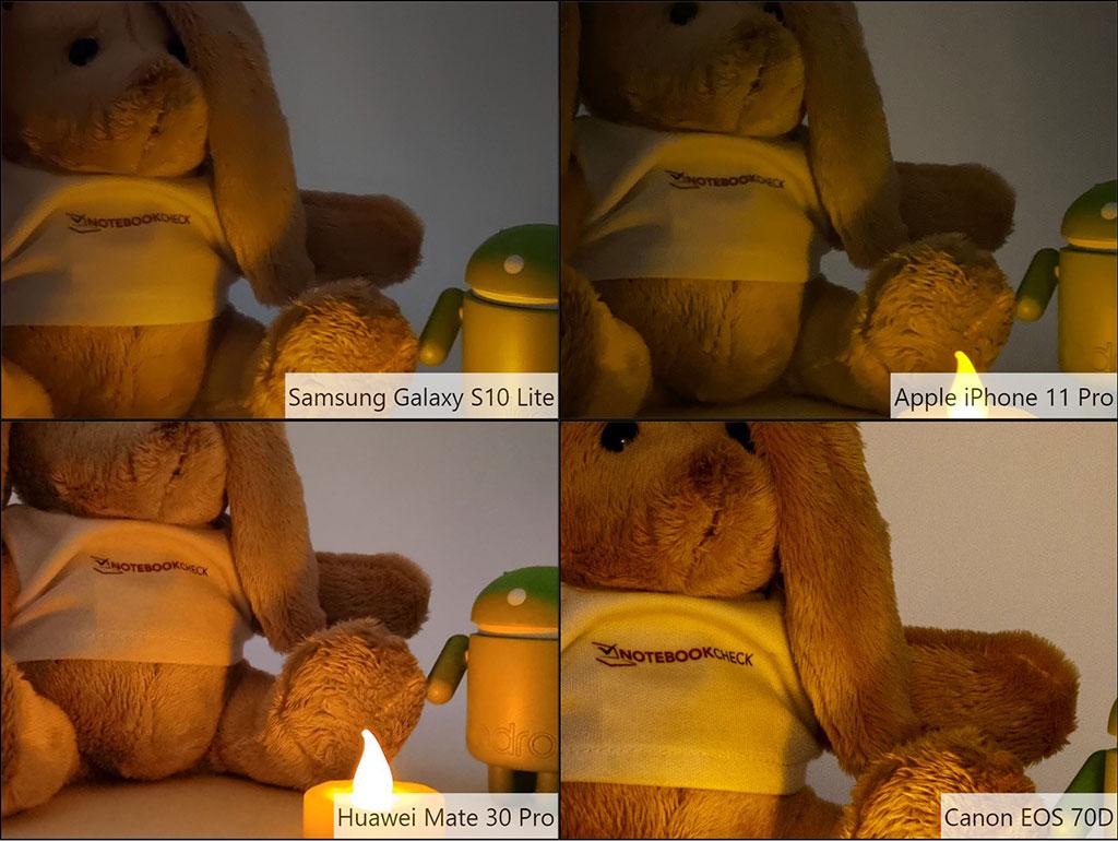 So sánh hình ảnh galaxy S10 lite