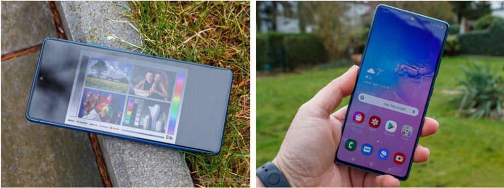 Galaxy S10 Lite với màn hình OLED