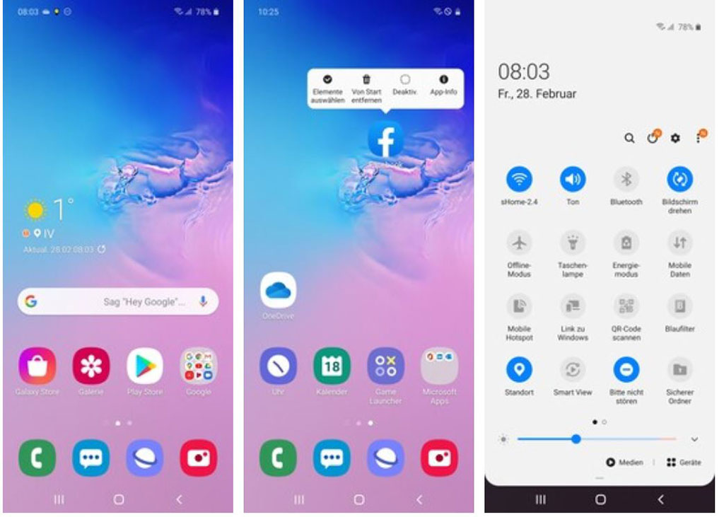 Phần mềm Android 10