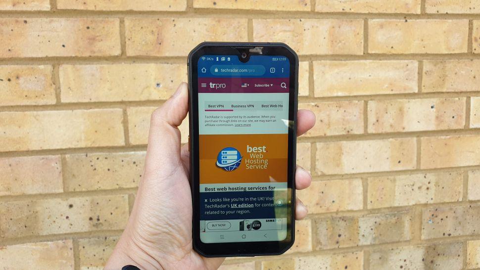 điện thoại chống nước giá rẻ 2021 Blackview BV9900 Pro