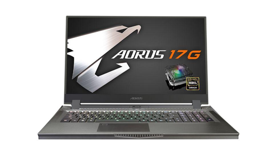 Gigabyte Aorus 17G (năm 2021) laptop gaming tốt nhất 2021