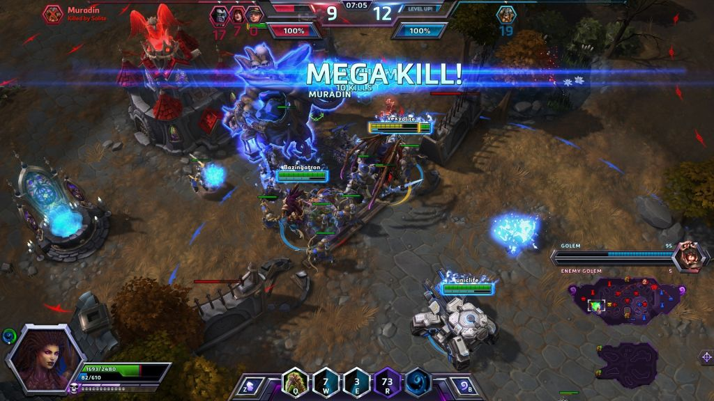 Heroes of the Stormmgame online hay cho pc nhẹ miễn phí