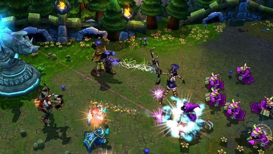 Liên minh huyền thoại game online pc 2021