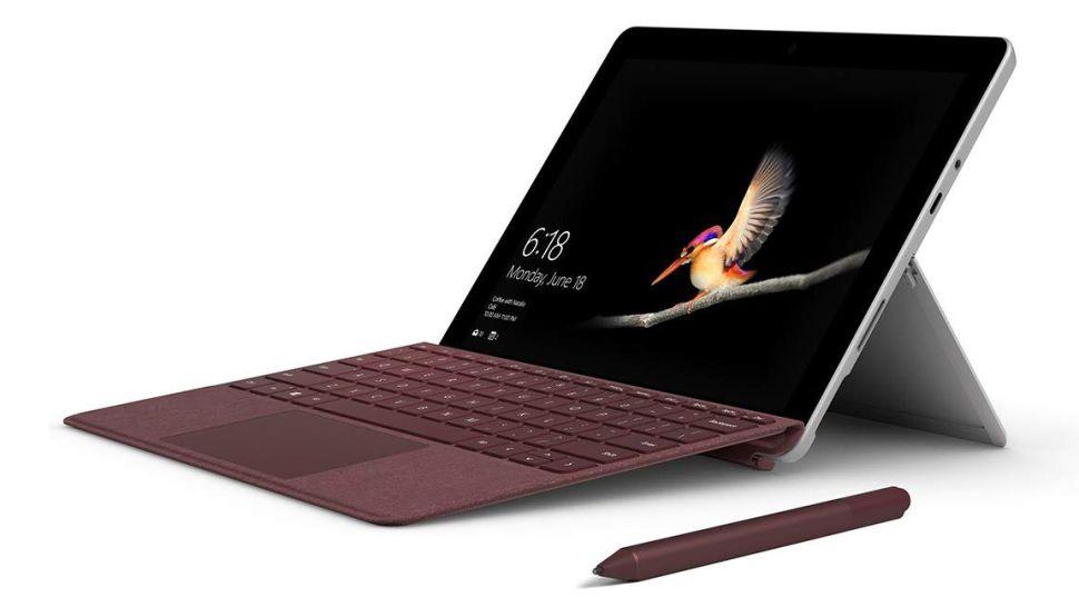 Microsoft Surface Go laptop giá rẻ cho sinh viên 2021