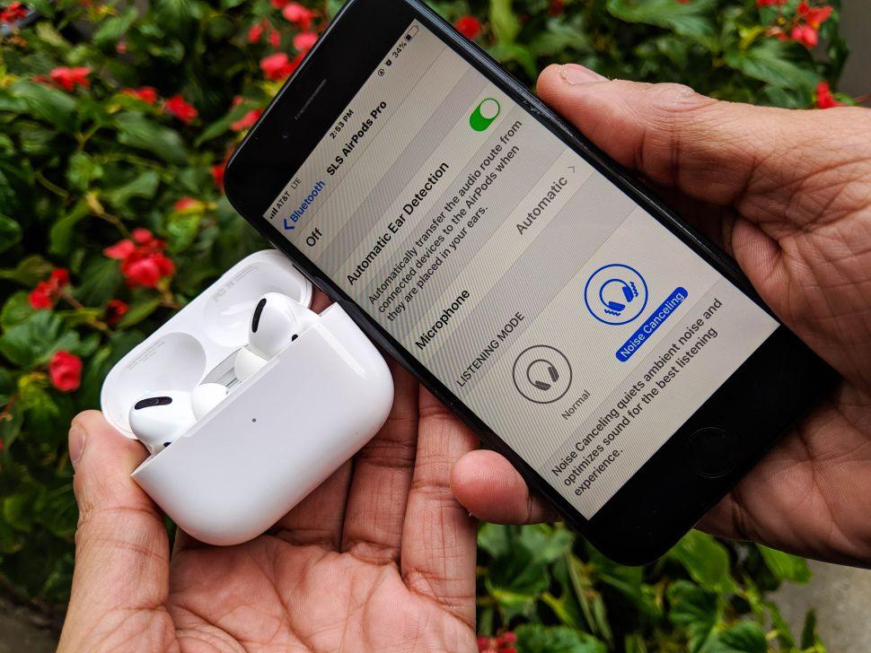 tai nghe bluetooth tốt nhất 2021 Apple AirPods Pro Chiếc tai nghe nhét tai toàn diện nhất