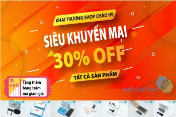 shop phụ kiện điện thoại khuyến mại chào hè