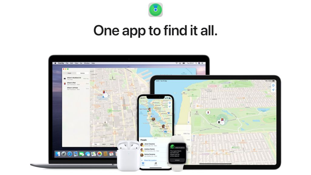 Cách sử dụng Find My của Apple trên máy Mac để tìm iPhone, AirTags của bạn