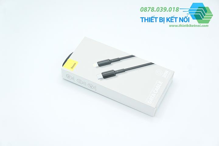 Cáp sạc nhanh Baseus Type-C Sang iPhone 20w PD3.0 1m