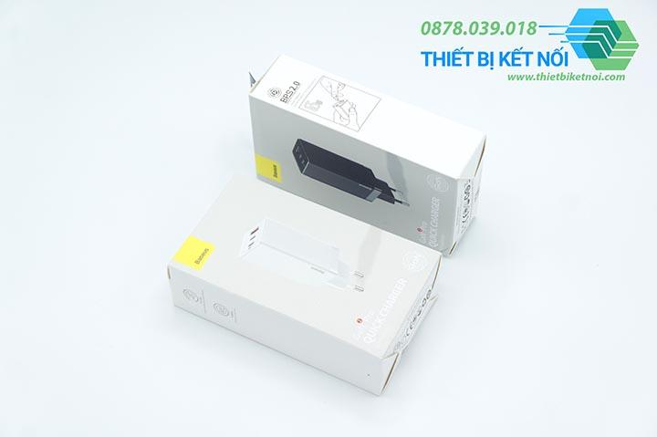 Cục sạc nhanh Type C Baseus GaN2 Pro Quick Charger 65W
