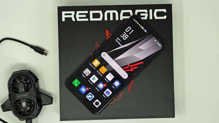 top điện thoại chơi game tốt nhất 2021 giá rẻ Nubia Red Magic 6