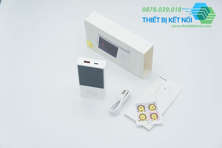 Pin sạc dự phòng sạc nhanh Baseus Super Mini 10000mAh 22.5W
