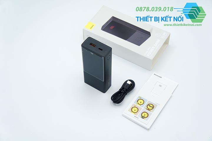 Pin sạc dự phòng sạc nhanh Baseus Super Mini 20000mAh 22.5W