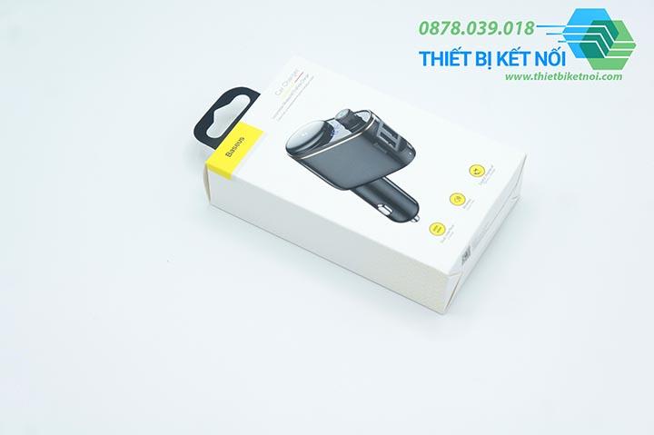 Tẩu sạc đa năng ô tô Baseus S06 tích hợp Bluetooth MP3 Vehicle Charger