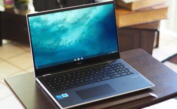 Asus Chromebook Flip C536