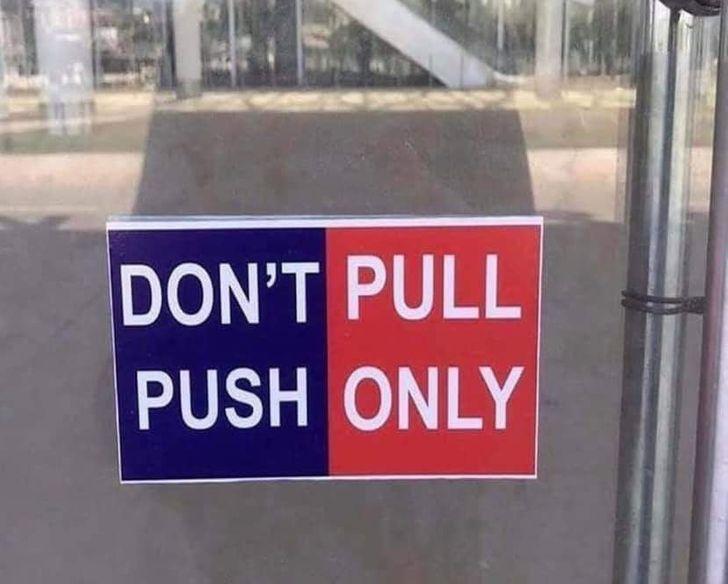 Tôi sẽ ... sử dụng cánh cửa khác